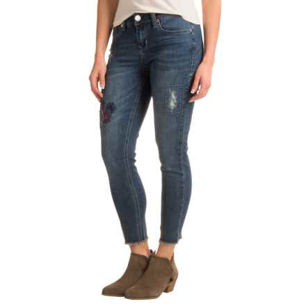 Seven7 Ankle Skinny Embroidered Jeans (For Women) in Armstrong - Closeouts