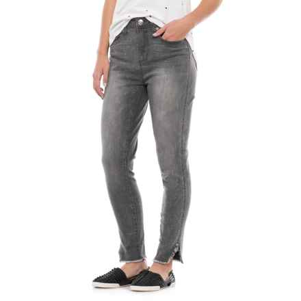 Seven7 Ankle-Slit Stretch Jeans - High Rise (For Women) in Hamilton - Closeouts