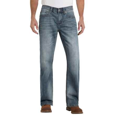 Seven7 Big Stitch Jeans - Bootcut (For Men) in Sonic - Closeouts