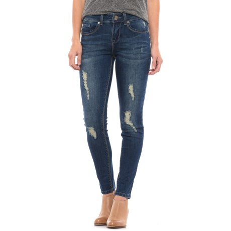 Seven7 Distressed Booty Shaper Jeggings (For Women) in Astraios