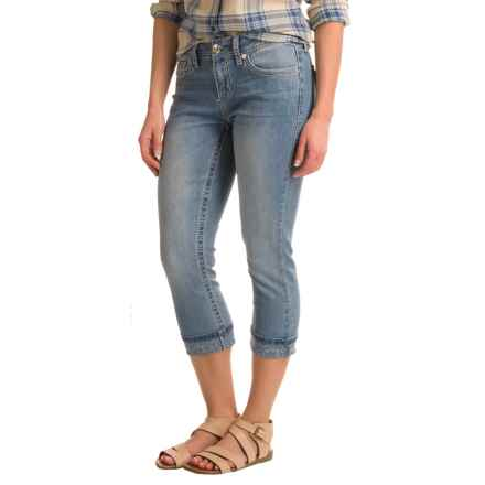Seven7 Flap Pocket Roll Cuff Capris (For Women) in Mabel - Closeouts