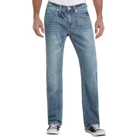 Seven7 Luxury Denim Jeans - Straight Leg (For Men) in Belasco - Closeouts