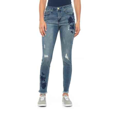 Seven7 Misfit Signature Skinny Jeans - Mid Rise (For Women) in Misfit - Closeouts