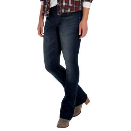 Seven7 Rocker Pull-On Jeans - Slim Fit, Bootcut (For Women) in Allure - Closeouts