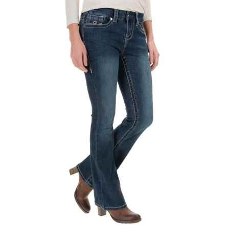 Seven7 Signature Big Stitch Jeans - Bootcut (For Women) in Huxley - Closeouts