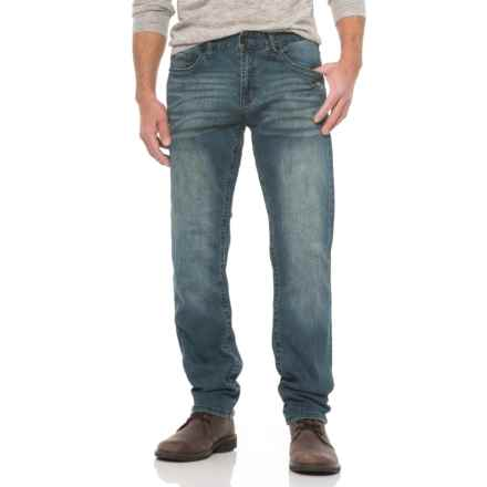 Seven7 Slim Fit X Hatch Four-Way Stretch Jeans (For Men) in Mercury Blue - Closeouts