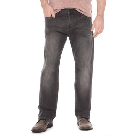 Seven7 Star Straight-Leg Jeans (For Men) in Black