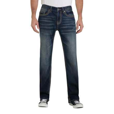 Seven7 Super Stretch Jeans - Straight Leg (For Men) in Speaker - Closeouts