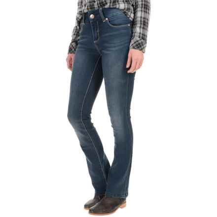 Seven7 Tummy-Less Slimmer Jeans - Slim Fit, Bootcut (For Women) in Barcelona - Closeouts