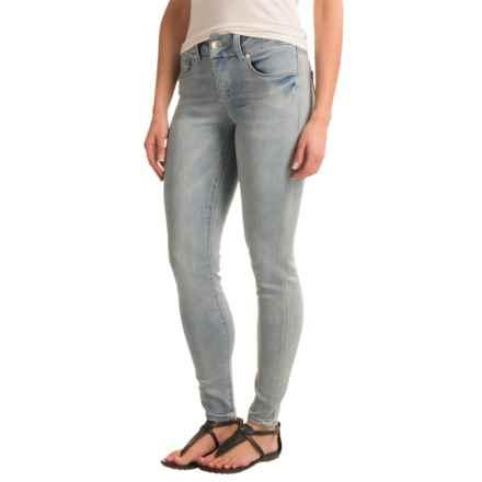 Seven7 Tummyless Denim Leggings (For Women) in Cielo - Closeouts