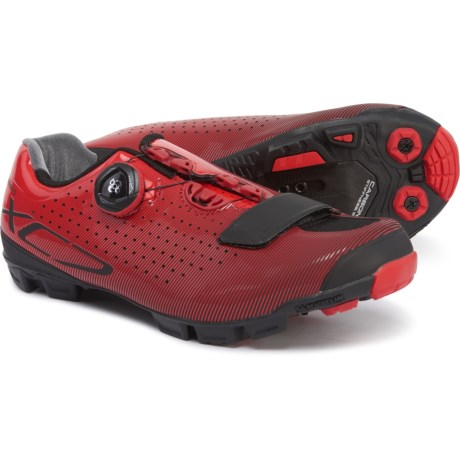 SH-XC7 Mountain Bike Shoes - SPD (For Men) - RED (38 )