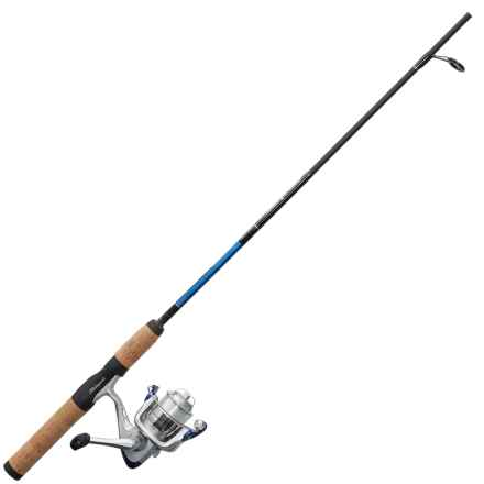 """Shakespeare® Complete Lake/Pond Spincast Rod and Reel Kit - 2-Piece, 5'6"""", Medium in See Photo - Closeouts"""
