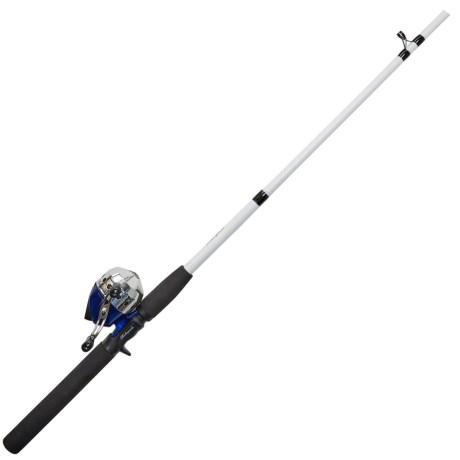 "Shakespeare® Complete Saltwater Spincast Combo Kit - 2-Piece, 6'6"", Medium-Heavy in See Photo"