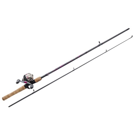 Shakespeare® LadyFish® Spinning Rod and Reel Combo - 2-Piece, 6', Medium in See Photo