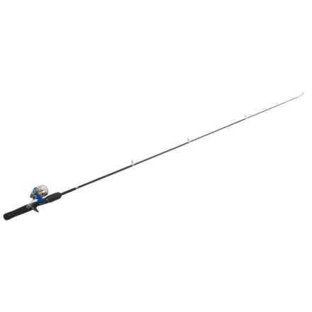 """Shakespeare® Travel Mate Telescoping Spinning Rod Combo Kit - Collapsible, 4'6"""", Ultralight in See Photo - Closeouts"""