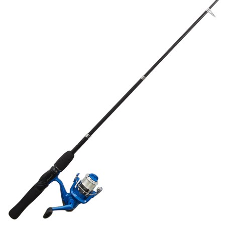 """Shakespeare® Travel Mate Telescoping Spinning Rod Combo Kit - Collapsible, 5'6"""", Medium in See Photo"""