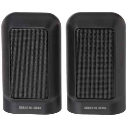 Sharper Image Bluetooth® Speakers in Black - Closeouts