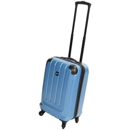 "Sharper Image Fiber Lite Spinner Suitcase - 20"" in Cobalt - Closeouts"
