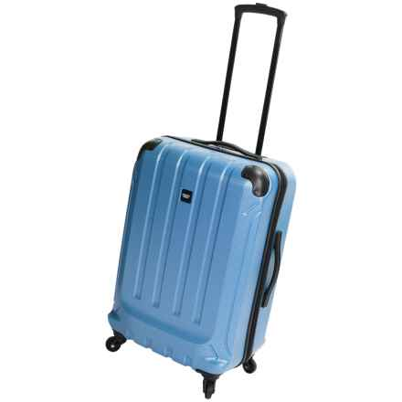 "Sharper Image Fiber Lite Spinner Suitcase - 24"" in Cobalt - Closeouts"