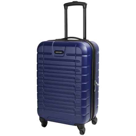 "Sharper Image Tour Carry-On Spinner Suitcase - 20"" in Navy - Closeouts"