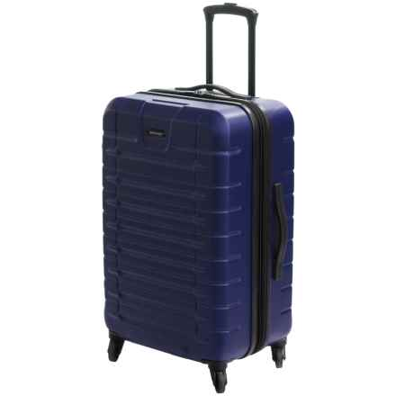 """Sharper Image Tour Spinner Suitcase - 24"""" in Navy - Closeouts"""