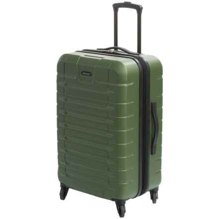 "Sharper Image Tour Spinner Suitcase - 24"" in Olive - Closeouts"
