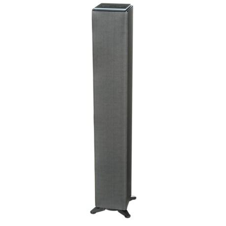 Sharper Image WiFi Tower Speaker with Amazon Alexa Voice Service in Grey
