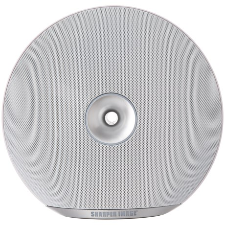 Sharper Image Wireless Speaker in White