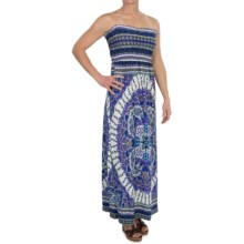She's Cool Maxi ITY Knit Dress - Strapless (For Women) in Navy - Closeouts
