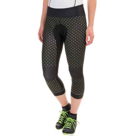 Shebeest Brave Cycling Knickers (For Women) in Polka Mania Spry - Closeouts