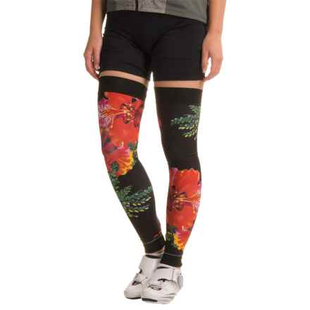 Shebeest Brave Leg Warmers (For Women) in Flamboyant Black - Closeouts