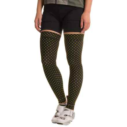 Shebeest Brave Leg Warmers (For Women) in Polka Mania Spry - Closeouts