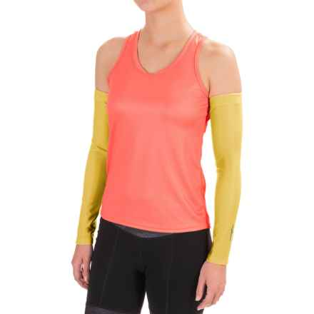 Shebeest Cycling Arm Warmers - 2-Pack (For Women) in Sun - Closeouts