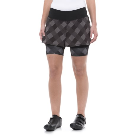 Shebeest Fender Bike Skirt (For Women) in Gingham Style Seal