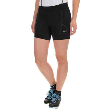 Shebeest RPM 5.5 Cycling Shorts - Contoured Fit (For Women) in Black - Closeouts