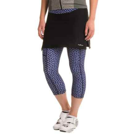 Shebeest SB Cycloskort Capris (For Women) in Monarch/Cobalt - Closeouts