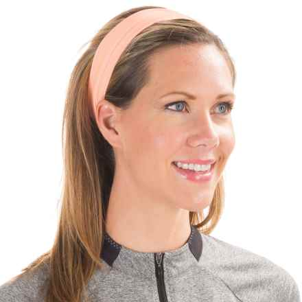 Shebeest Winter Headband (For Women) in Grapefruit - Closeouts