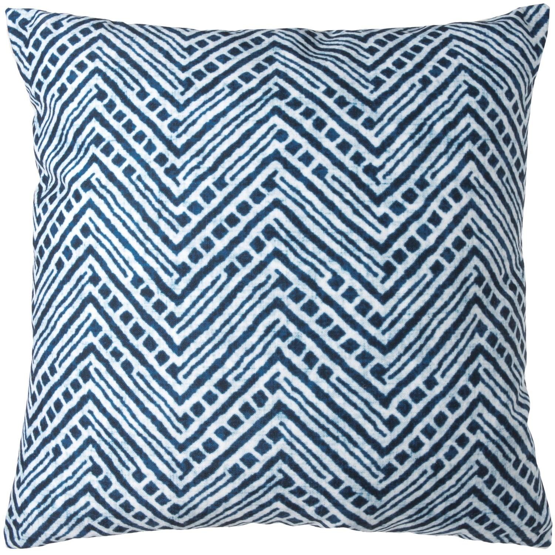 Sheffield Home Printed Shibori Pattern Decor Pillow