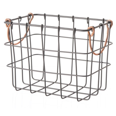 Wire Bin | Sheffield Home Rectangle Wire Bin Small Save 37