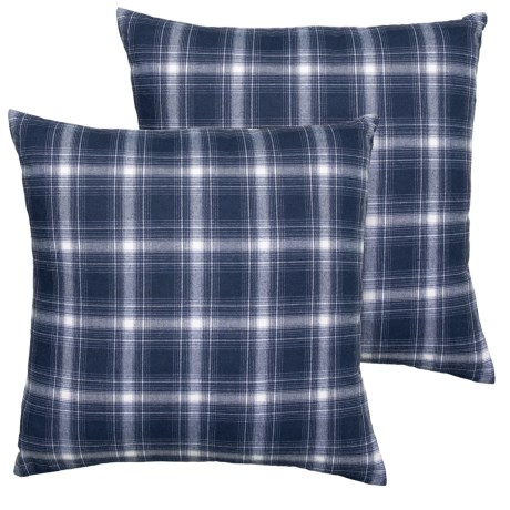 Sheffield Home Set Of 40 Blue Plaid Feather Throw Pillows 400x400 Magnificent Sheffield Home Decorative Pillows