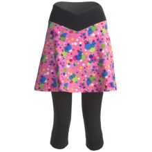 Sheila Moon Isis Cycling Knicker Skort (For Women) in Pink Bubble - Closeouts