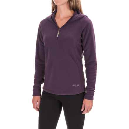 Sherpa Adventure Gear Deepak Fleece Shirt - Zip Neck, Long Sleeve (For Women) in Chaang - Closeouts