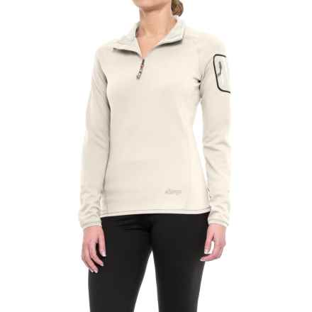 Sherpa Adventure Gear Dikila Shirt - UPF 50+, Zip Neck, Long Sleeve (For Women) in Bagmati Sand - Closeouts