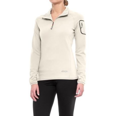 Sherpa Adventure Gear Dikila Shirt - UPF 50+, Zip Neck, Long Sleeve (For Women) in Bagmati Sand