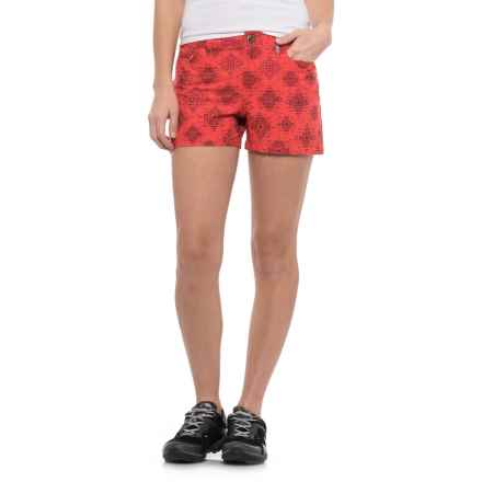 Sherpa Adventure Gear Jatra Shorts (For Women) in Fresh Jalebi - Closeouts