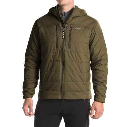 Sherpa Adventure Gear Kailash Hooded Jacket - Insulated (For Men) in Juniper/Korsani - Closeouts