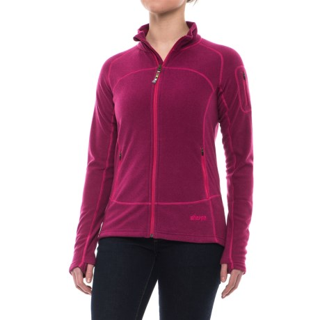 Sherpa Adventure Gear Karma Fleece Jacket (For Women) in Tika/Phagun