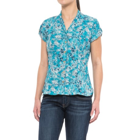 Sherpa Adventure Gear Minzi Shirt - Short Sleeve (For Women) in Sagar