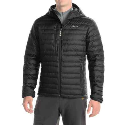 Sherpa Adventure Gear Nangpala Hooded Jacket - 650 Fill Power (For Men) in Black/Monsoon Grey - Closeouts