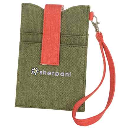 Sherpani Bijou iPhone® 5 Wristlet (For Women) in Olive - Closeouts